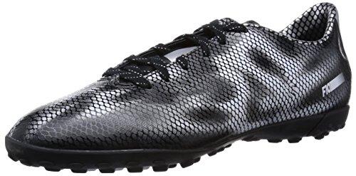 adidas F10 Turf Herren Fußballschuhe Schwarz (Core Black/Silver Met./Silver Met.)