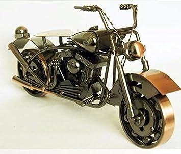 House Deco Creative Pure Metal Moto Decorations Iron Motorcycle