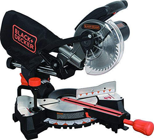 Black+Decker SM1850BD 7-1/4'' Sliding Compound Miter Saw by BLACK+DECKER