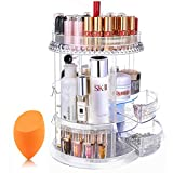 Mokaro Makeup Organizer Acrylic Cosmetic Storage with Drawers 360...