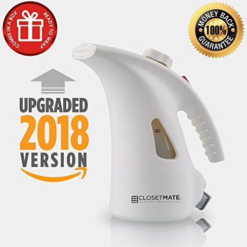 ClosetMate Powerful Garment Steamer - The ONLY ONE with a Retractable Cord – Steamer ...