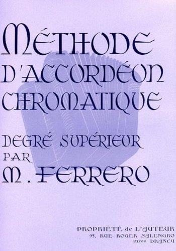 Accord/éon M/éthode daccord/éon chromatique degr/é sup/érieur -