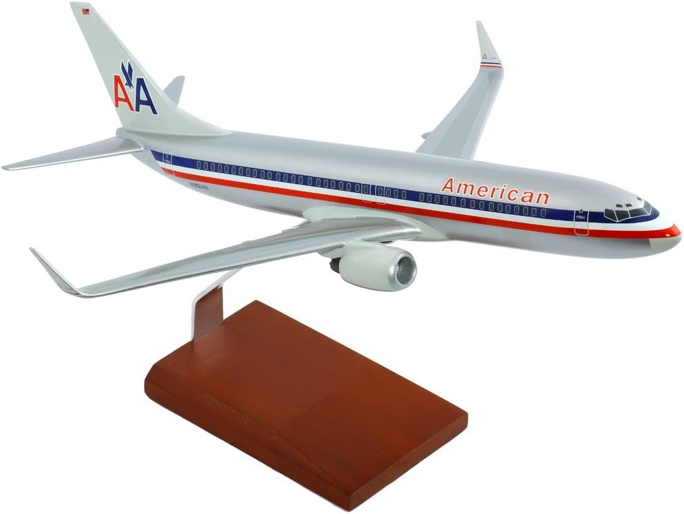 Executive Series G9310 American Airlines 737-800 1:100 Scale Old Livery Display Model with Stand 51jNAnpCa2LSL1000_