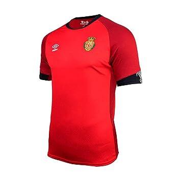UMBRO RCD Mallorca Primera Equipación 2019-2020, Camiseta, Rojo ...