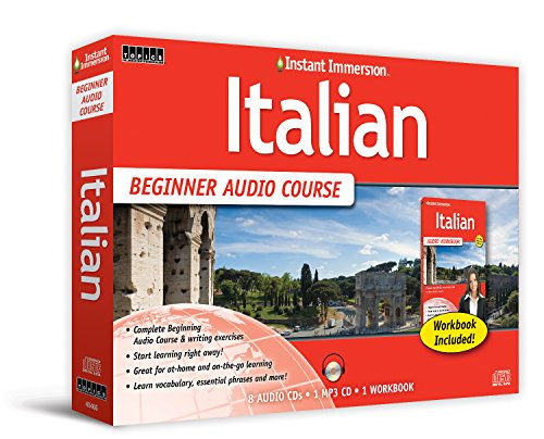 Learn Italian  Beginner Audio Language Course By Instant Immersion  2016 Version   Italian And English Edition