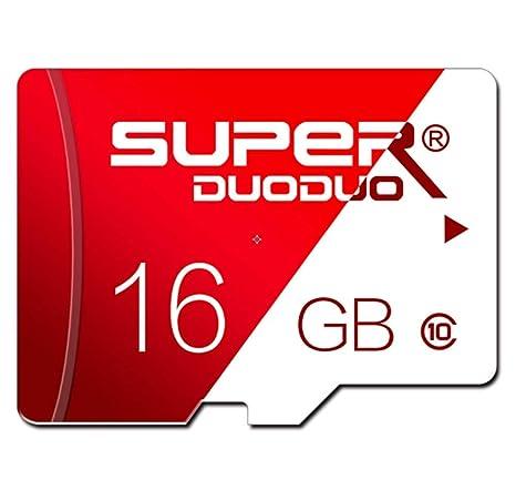 CLN Tarjeta microSD, 16GTF Memoria de la cámara réflex Tarjeta de ...