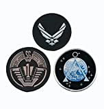 Stargate SG-1 Uniform/Costume Patch Set of 3 pcs Iron On Sew On by Miltacusa