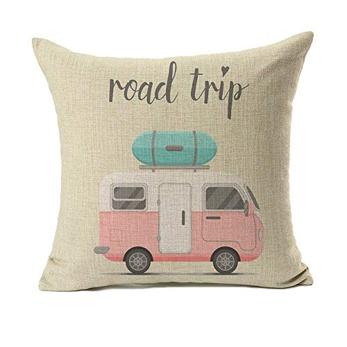 Happy Camper Pillowcase Cover made our list of camper gifts that make perfect RV gifts which are unique gifts for RV owners