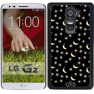 Funda para LG G2 - Modelo De Estrellas De La Luna by hera56