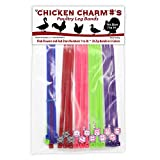 Chicken Hill Numbered Poultry Leg Bands (Red,pink)