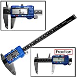 Neiko 01413A Electronic Digital Caliper with Extra Large LCD Screen | 0-8 Inches | Inch/Fractions/Millimeter Conversion