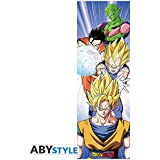 ABYstyle Abysse Corp_ABYDCO448 Dragon Ball - Póster de Puerta - Saiyans (53 x 158)