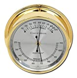 Comfortminder Hygrometer/Thermometer in Brass