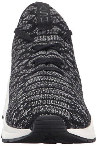 Ash Women's Magma Fashion Sneaker Black/Grey DrxDR0nE