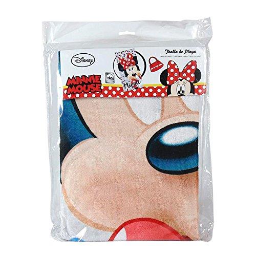 Artesan/ía Cerd/á 2200002157 Toalla Playa algod/ón dise/ño Minnie Mouse