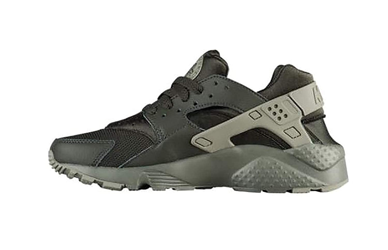 NIKE Huarache Run Sneaker Dark Green 654275-302-SZ 5Y