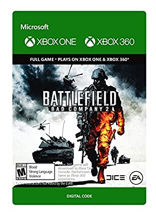 Battlefield: Bad Company 2 - Xbox 360 / Xbox One [Digital Code]