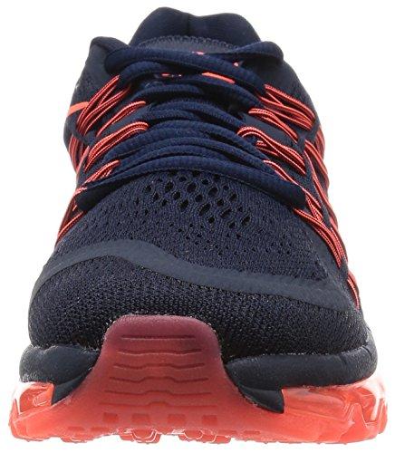 Nike Womens Wmns Air Max 2015, Ossidiana / Iper Arancio-nero Ossidiana / Iper Arancio-nero