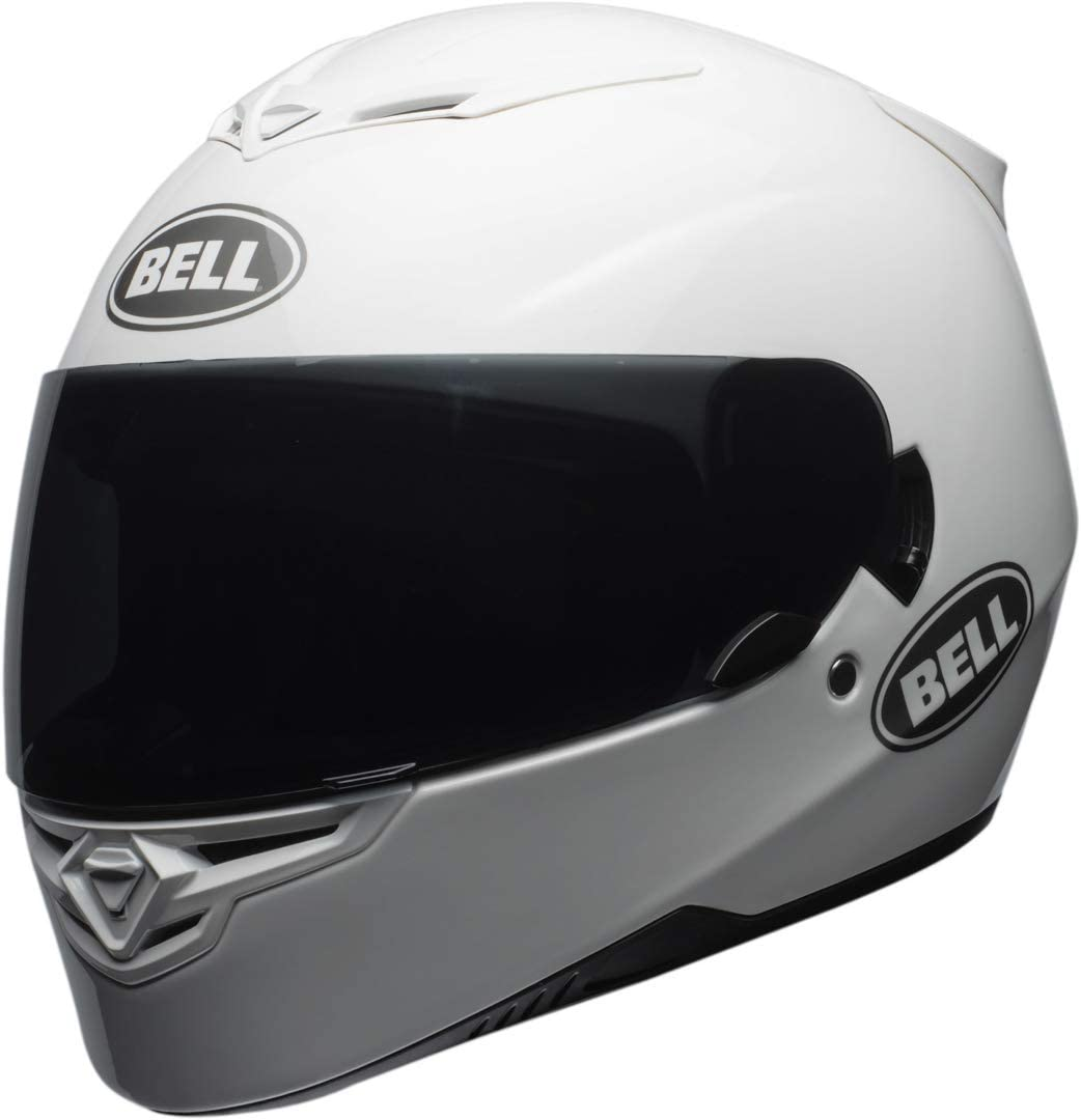 Bell Helmets BH 7092262 Bell RS2 Solid L, Hombre, SOID Blanco