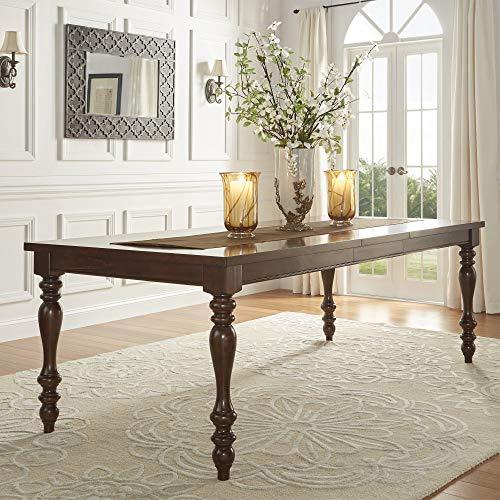 Inspire Q Classic Parisian Rectangular Extending Dining Table by - -