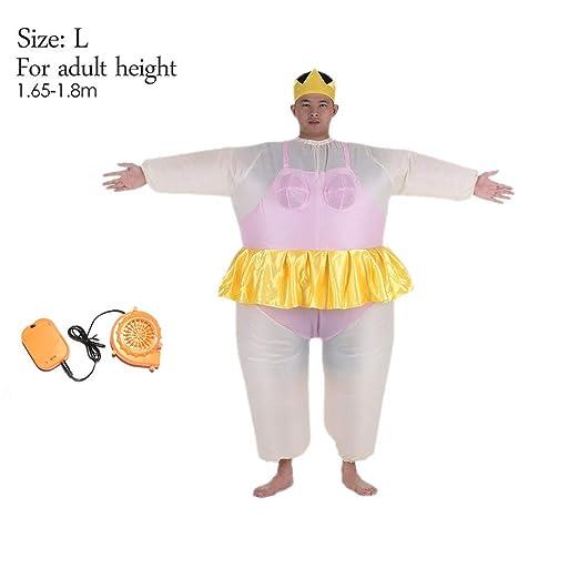 Disfraz de Bailarina Inflable para Mujeres y Hombres ...