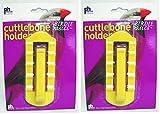 (2 Pack) Prevue Pet Products Birdie Basics Cuttlebone & Treat Holder