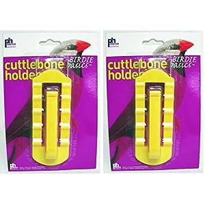 (2 Pack) Prevue Pet Products Birdie Basics Cuttlebone & Treat Holder 90