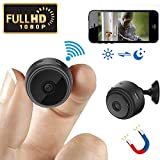Mini Spy Camera Wireless Hidden Camera WiFi HD 1080P Small Nanny Cam Home