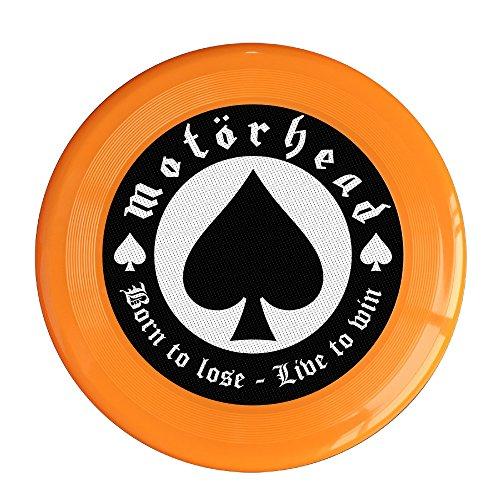 VOLTE Motörhead British Heavy Metal Rock Band Poker Orange Flying-discs 150 Grams Outdoor Activities Frisbee Star Concert Dog Pet (Star Fox Dog Costume)