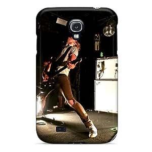 ErleneRobinson Samsung Galaxy S4 Scratch Resistant Hard Phone Case Custom HD Grave Band Series [JWj4545gwvp]