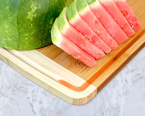 Extra Large Bamboo Cutting Board for Kitchen with Juice Groove - 17.5 x 13.5 x 0.75 inch 4 <p>BEST CUTTING BOARDS FOR KITCHEN & FOR YOUR KNIVES! ❤️Jumbo oversize design bread cutting bosrd cutlery cuttig cutting bords cuttimg curting cuttinf cutting bored mothers day kitchen cuting cutting boad cuttting cutting broad cuttong personalized baboo cutting bpard non slip woodcutting bambo cutting citting cuttibg cutting boarf mothers day cutting briskit cutting cutting valentines day cuttingg cuttng wood cuting wood cutring wood cuttig cutting boads cuttong cuttung wooden cuttin wooden cutting boatd bamboo cuting bamboo cuttimg bamboo cutting bosrd briskit cutting catting chopping light weight chopping one hand cutitng cuttibg cuttign anti slip cutting latge cutting woode cutting xl xxlarge light weight dont slip cutting obard cuttinng cuttung set woden cutting wood cutting biard wooden cuting woodwn cutting cutting baord cutting borad most popular items on amazon todays deals lightning deals cutring toaster ovens best rated cool stuff for women tabla para picar cocina accesorios nsf cutting boatd cutting boar cutting boars heavy duty choice cuttingboard oversized gadget small cuttingboards gadgets xl smart grooved jumbo rv handle inch well usa men green 2018 in inches chicken feet raw oven stuff most ovens utensil legs basics oversize toaster medium free Brisket valentines cuttong cooking platter holder end xxl beech bord dad silent stovetop camper parents voard wood wooden wedding registry by brides name charcuterie butcher block wood cutting kitchen essentials cutting oil noodle huge giant chef carving with juice grooves turkey carving platter turkey carving spikes turkey shaped cutting charturie charqueterie tabla para quesos charcuterie plates outdoor fresh nsf entertaining serving dishes soft 18x13 18 x 13 grilling easy to clean cutting board microbial certified single hand made handmade best heavy duty king camping dad man men vegan bacteria anti mold comercial commercial network handcrafted hand crafted ridged sale seal one piece anti slip LOVE OUR CUTTING BOARDS FOR KITCHEN or YOUR MONEY BACK, Guaranteed! We stand behind our bamboo cutting board 100% If anything is wrong with your heavy duty cutting board Contact Us directly and give us a chance to make it right! 100% SAFE FOR FAMILY! Eco friendly bamboo cutting board with natural antimicrobial properties and already coated with food grade mineral oil. Renewable, formaldehyde-free, BPA free and no chemicals used during production makes this a perfect choice for your family and the environment. Do Not Place In Dishwasher! KNIFE FRIENDLY! Cutting board won't dull your expensive knife set when you carve turkey, chop vegetables, prep steak meat, roast beef, cooking bbq brisket, slice cheese, cut pizza, fish or other cool food meal stuff. Top choice for cutlery utensil as compared to other noodle, teak, hard plastic or thick hardwood end grain cutting block. DEEP JUICE GROOVE! This rectangle turkey carving platter holds up to 2 oz. of liquid keeps juices from spilling all over your kitchenware counter. The oversized bambu drip well catcher is great to cut turkey, chopping juicy veggies or fruit. HAPPY COOKS ranging from home cooks to professional chefs at restaurants, commercial kitchens, caterers and bakeries. Comes in a gift worthy package for mom, perfect for any occasion like Valentines's Day, Thanksgiving, Bridal Shower, Housewarming, Birthday, House Warming Presents search Wedding Registry Ideas by Brides Name.</p>