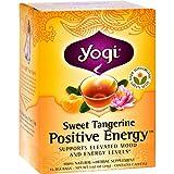 Yogi Positive Energy Herbal Tea Sweet Tangerine – 16 Tea Bags – Case Of 6 For Sale