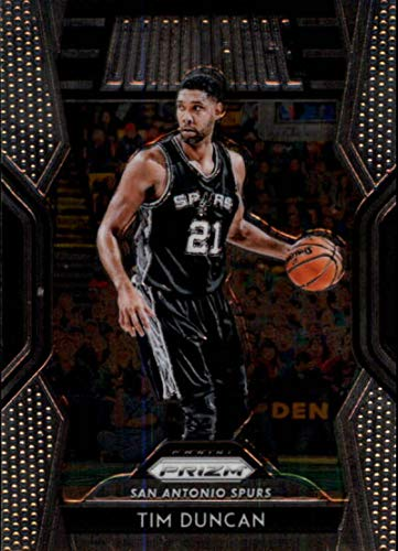 eb1e5af16 Amazon.com  2018-19 Panini Prizm Dominance  27 Tim Duncan San Antonio Spurs  NBA Basketball Trading Card  Collectibles   Fine Art