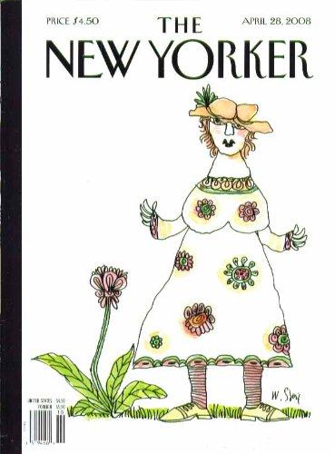 New Yorker Dresses - New Yorker cover Steig huge flowered dress 4/28 2008