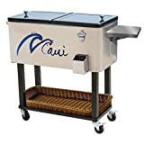 Rolling Cooler for the patio - Stainless steel - Best Reviews Guide