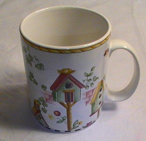 (Coventry Penelopes Garden Genuine Stoneware Mugs - Set of 4)