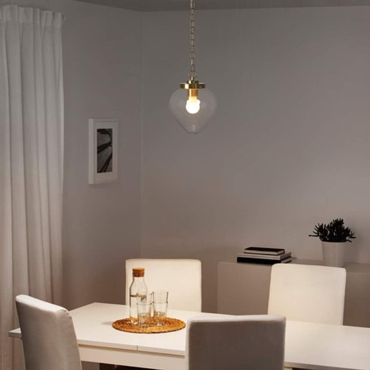 Clear Glass IKEA 203.940.96 Klovan Pendant Lamp Shade