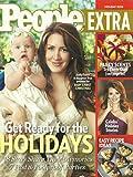 Joely Fisher, Penelope Cruz, Easy Recipe Ideas - Winter 2006/2007 People Magazine Holiday Extra