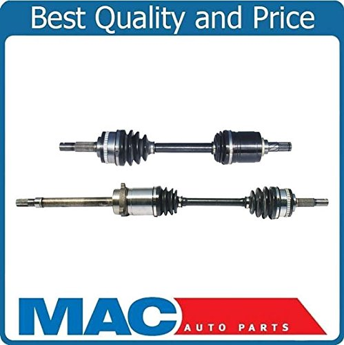 (2 100% New Complete Front CV Drive Axles Shafts for Infiniti G20 NEW 1991-1993 )