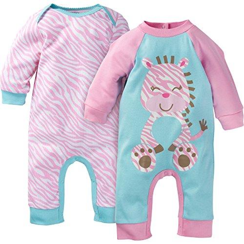Gerber Baby Girls Pack Coveralls