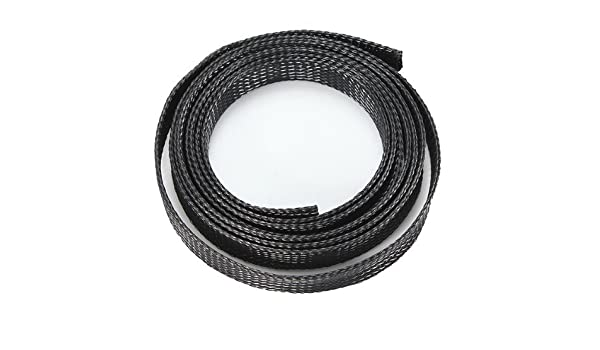 20mm Braided Expandable Auto Wire Cable Sleeving High Density Sheathing