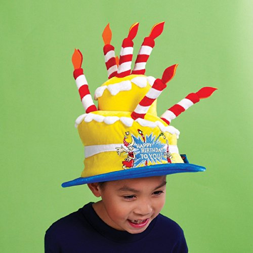 Elope Dr. Seuss Happy Birthday to You Hat
