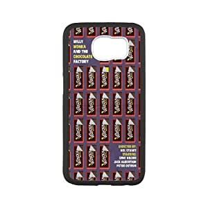Best Phone case At MengHaiXin Store Wonka Bar Pattern 15 For Samsung Galaxy S6