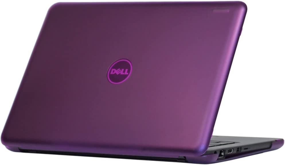 "mCover Hard Shell Case for 2019 13.3"" Dell Latitude 13 3300 Education Series Laptop Computers Released After Feb. 2019 (Purple)"