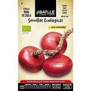 Batlle - Semillas Ecolgicas De Cebolla Roja De Zalla