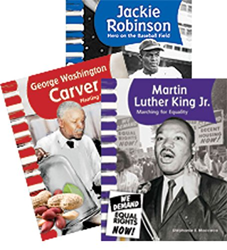 African American Men - 3 book set - Grades 1-2 (Social Studies Readers)