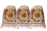 Claey's Sanded Ginger Drops Old Fashioned Cloth Bags 3 - 6 Ounce Bags