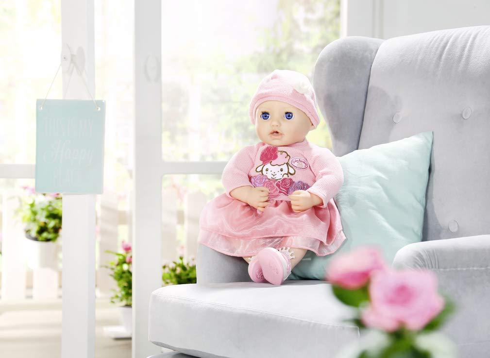 Baby Annabell Zapf Deluxe Set Blumen Puppenkleidung Sommerkleid Rosen 43 cm