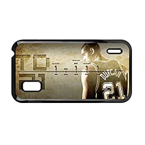 Personalised Back Phone Cover For Children For Google Nexus 4 Printing With Tim Duncan Choose Design 3
