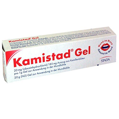 3 X 10g Kamistad Gel N | Treatment of Painful and